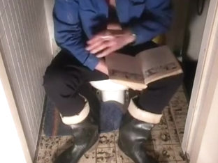nlboots - fav czech boots and black long johns, toilet