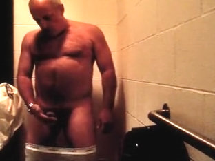 Public restroom jerk