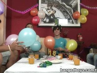 BangedBoys Video: Birthday Party