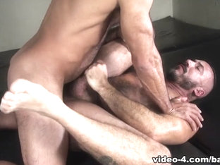 Alessio Romero and Vinnie Stefano - BarebackCumPigs