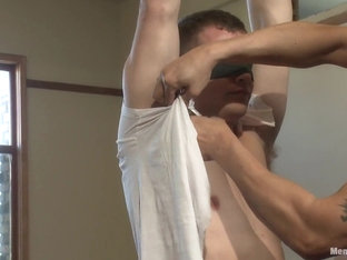 Hot Stud Hayden Richards Bound and Edged for First Time