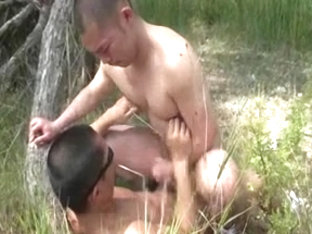 Outdoor asian gays sex clip