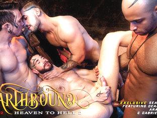 Earthbound - Heaven to Hell 2 XXX Video: Dean Monroe, Sean Zevran, Gabriel Alanzo, Arad Winwin - F.