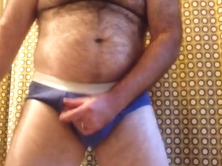 Jerking off in the bathroom