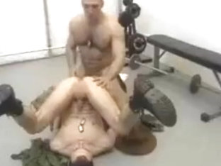 Sgt Anthony Gallo Fucks Twink  ( Vintage 90's Porn )