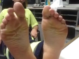 straight guys feet on webcam scene 3