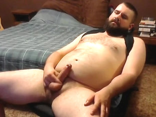 Jerk-off with Cockring