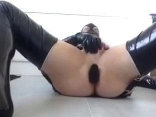 pvcgirlsy anal stretch