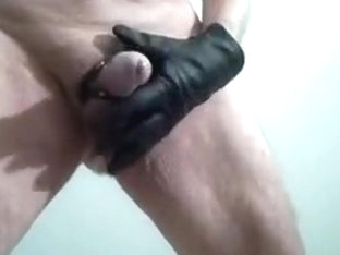Whipping my cock and ass