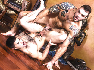 Aspen & Cliff Jensen in Strip Tease - MenNetwork
