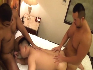 Crazy Asian homosexual twinks in Hottest JAV video