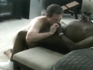 Deepthroating A Large Darksome Dad's Weenie