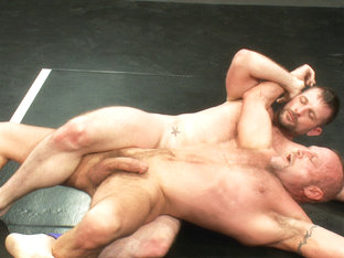 Two HOT Muscle Men Duke it Out