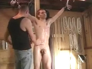 Crazy male in amazing bdsm homo adult scene