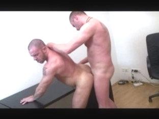 Fabulous male pornstar Jorde Ballantinos in exotic bareback, blowjob gay xxx clip