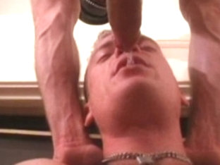 Best male pornstar in incredible tattoos, bondage homosexual sex video