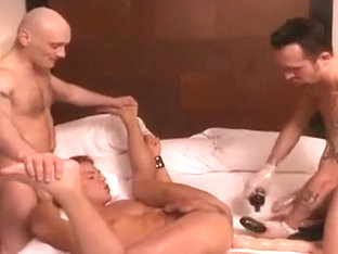 Horny male in amazing big dick, group sex homosexual porn movie