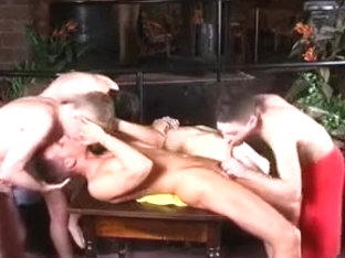 Gay twinks in orgy