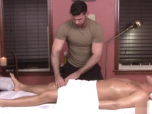 TRAPPED IN THE GAY MASSAGE HOUSE