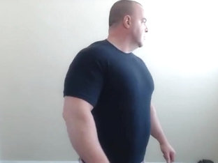 FLEXBIGMUSCLE - Giant growth and jerk off