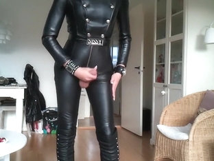 girlsy favorite sexy leather outfit 1