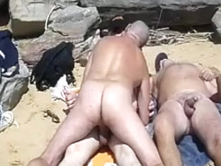 Beach Threesome
