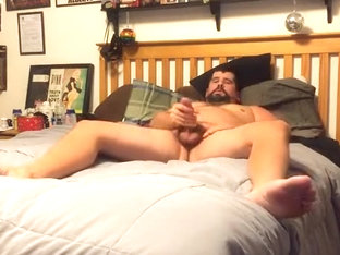 Mike Home Alone and Jacking Off