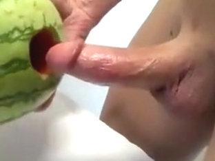 Watermelon fuck