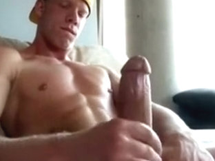 sexy twink jacking off (with cum shot)