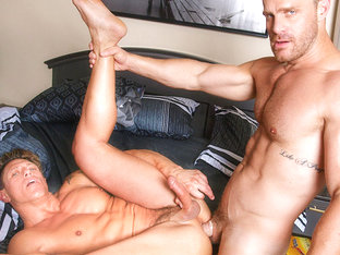 Bryce Evans & Landon Conrad in Boyfriends In Blankets Video