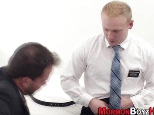 Ass fingered elder mormon