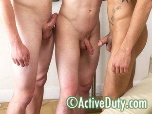 Boyd, Diego & Evan Military Porn Video