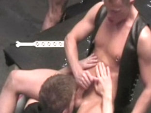 Amazing male pornstars Tony Bishop, Pete Ross and Duncan Murphy in incredible domination, bondage .