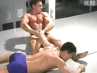 Horny male in crazy sports, hunks homo sex movie