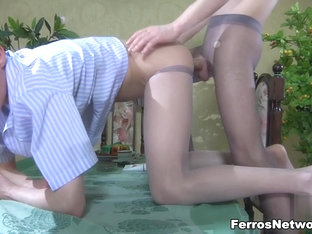 TryPantyhose Video: Benjamin and Randolph