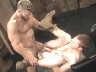 Teen stud does blowjob to mature man