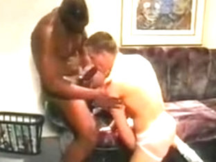 Dark boy-friend copulates white homosexual taut anus