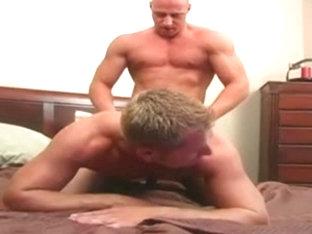 Two sexy man having sex