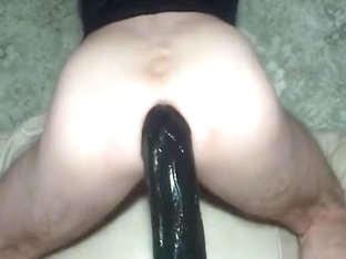 BIGGEST biggest monster sex toy fuck cum homosexual wazoo