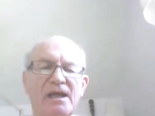 grandpa cum on webcam 14