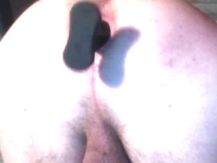 Teasing my winking asshole with buttplug preview