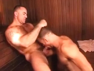 3some in the sauna