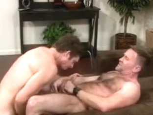 Hot mature men barebacking.