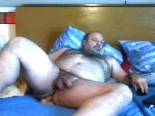fucking chubby guy by big dildo 2
