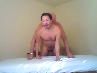 Hung palm spring daddy fucks younger