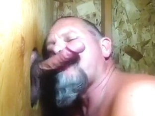 A Kiss Goodbye For The Traveler's Cock