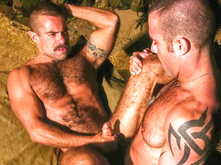 Steve Cruz & Orlando Toro in Grunts Brothers In Arms, Scene #07