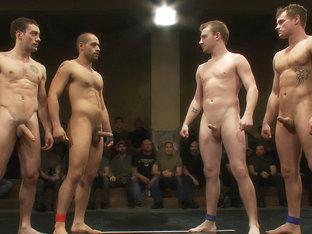 Trent Diesel & Sebastian Keys vs Leo Forte & DJ  Live Match