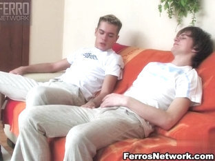 TryPantyhose Movie: Tommy and Desmond