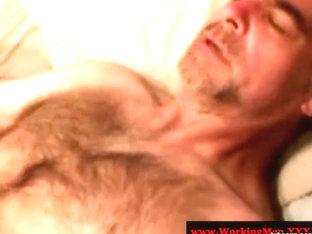 Hairy southern bears assfucking threeway